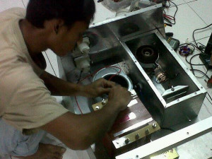 seting pemancar tube